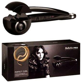 Daisi Babyliss Pro Perfect Curl เครื่องม้วนผมอัตโนมัติ เครื่องม้วนผมไฟฟ้า ที่ม้วนผม โรลม้วนผม (สีดำ)