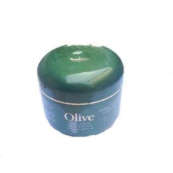 KH Olive Oil ครีมหมักผมสมุนไพรน้ำมันมะกอกพรีเมียมนำเข้าจากเกาหลี