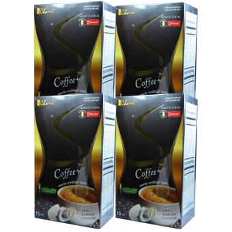 Chame' Sye Coffee Plusชาเม่ ซายน์ กาแฟลดน้ำหนัก เกรดพรีเมี่ยม บรรจุ10ซอง(4กล่อง)