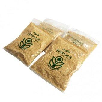 จมูกข้าวสาลีอบ 300 กรัม ธัญพืชพลังธรรมชาติ 4 แพ็ค )