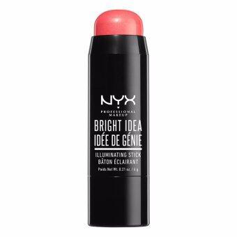 นิกซ์ โปรเฟสชั่นแนล เมคอัพ ไบรท์ ไอเดีย อิลูมิเนตติ้ง สติ๊ก - BIIS04 โรส พีทัล พ็อพ NYX Professional Makeup Bright Idea Illuminating Stick - BIIS04 Rose Petal