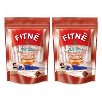 FITNE ฟิตเน่ ยาชงสมุนไพร กลิ่นดั้งเดิม 80 กรัม (แพ็ค 2 ถุง)
