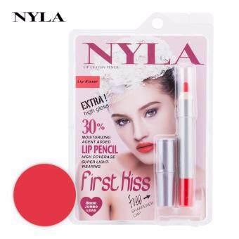 ลิปสติก NYLA Lip Crayon Pencil Lip สี Kisser