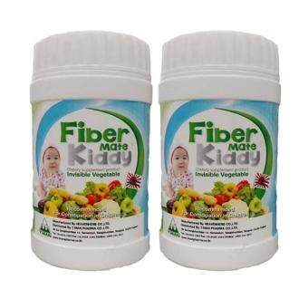 Fiber Mate Kiddyผลิตภัณฑ์เสริมอาหารไฟเบอร์เมท คิดดี้60กรัม(2ขวด)