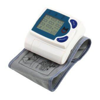 ข้อมือดิจิทัล...จอมอนิเตอร์ข้างวัดความดันหัวใจเครื่องขาว