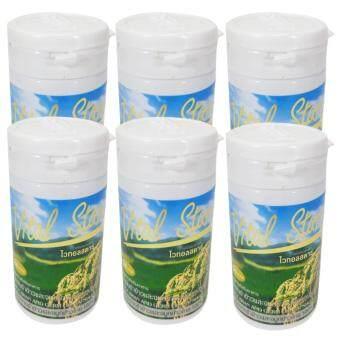 ไวทอล สตาร์ น้ำมันรำข้าวและจมูกข้าว Vital Star Rice Bran And Germ Oil 60 Capsule 6 Bottle