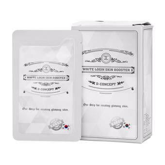D-concept white login skin booster บูสเตอร์ รกม้าบริสุทธิ์ ผิวขาว กระจ่างใส (ยกกล่อง 12 ชิ้น )
