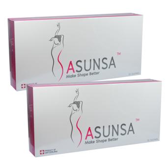 Sasunsa Slimซาซันซ่า ลดน้ำหนักจากสวิตเซอร์แลนด์ บรรจุ14ซอง(2กล่อง)