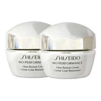 Shiseido Bio-Performance Glow Revival Cream ครีมบำรุงผิวสูตรเข้มข้น 10ml (2 กระปุก)