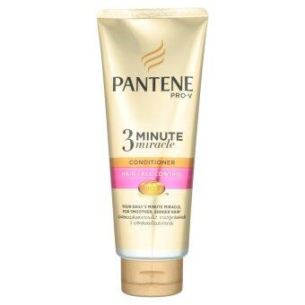 PANTENE แพนทีน โปร-วี ทรี มินิท มิราเคิล คอนดิชันเนอร์ แฮร์ ฟอล คอนโทรล 180มล.