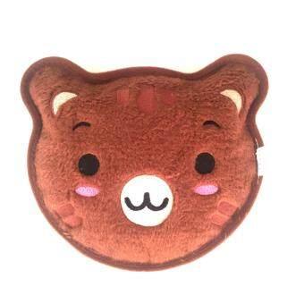 กระเป๋าน้ำร้อนไฟฟ้ารุ่นพกพาง่าย/ Heating Bag หน้าหมี สีน้ำตาล_Model12