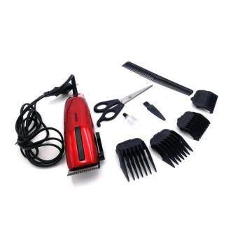 แบตตาเลี่ยน แบตเตอร์เลี่ยนตัดผมชายสีแดง แบตเตอเลี่ยนไฟฟ้าชนิดมีสาย แบตตาเลี่ยนไฟฟ้า ปัตตาเลี่ยนตัดผมเด็ก ปัตตาเลี่ยนตัดผมไฟฟ้า ปัตตาเลี่ยนตัดผมชาย RED Professional Electric Hair Clipper For Men & Women