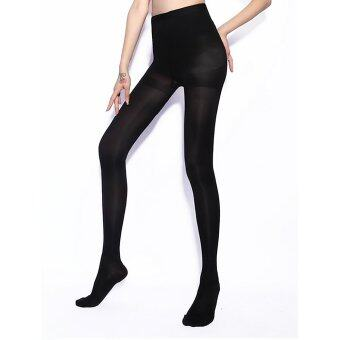 Vanker ฤดูใบไม้ร่วงผู้หญิงเซ็กซี่ Chinlon 680D ถุงน่องหนาถุงเท้าถุงน่องขา (สีดำ) (ในประเทศ)