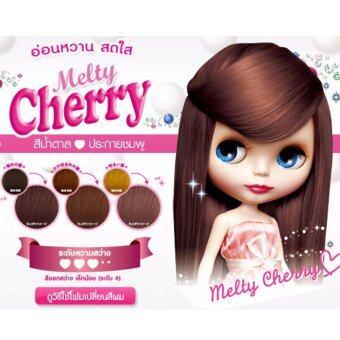 Schwarzkopf Fresh Light โฟมเปลี่ยนสีผม สีน้ำตาลประกายชมพู - Melty Cherry 30 ml.