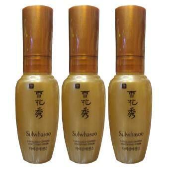 Sulwhasoo capsulized ginseng fortifying serum เพิ่มความยืดหยุ่นและเรียบเนียน 8ml (3 ขวด)