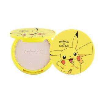 Cathy Doll Pokemon Edition Magic Gluta Pact #21 Light Beige SPF50 PA+++ แป้งกลูต้าตลับ แป้งฝุ่นอัดแข็ง โปรเกม่อน พิกาจู สีไลท์ สีอ่อน สำหรับคนผิวขาว 12g
