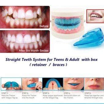 เป็นบริวาร+ทันตกรรมจัดฟันตรงช่องฟันสำหรับวัยรุ่น และผู้ใหญ่ (สีน้ำเงิน)