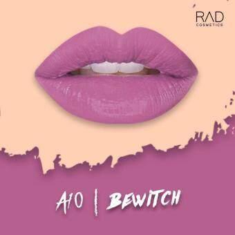 ของแท้ ลิปน้ำชา RAD Cosmetics สี Bewitch : A10 RAD Matte Liquid Lipstick