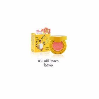 Cathy Doll โปเกมอน คูชั่น บลัชเชอร์ 03 Lolli Peach