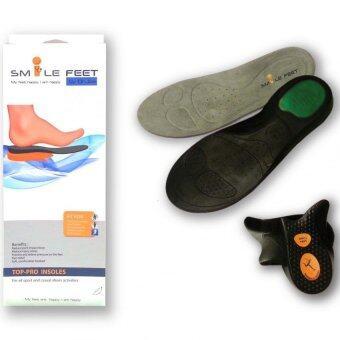 Smile Feet แผ่นรองรองเท้าเพื่อสุขภาพ รุ่น Top-Pro Size S (เบอร์ 36-38)