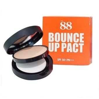 Ver 88 Bounce Up Pact SPF50+ PA แป้งดินน้ำมัน หน้าเด้ง กันน้ำ กันเหงื่อ
