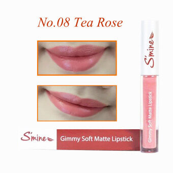 Harga S'mine Gimmy Soft Matte Lipstick – 08 Tea Rose