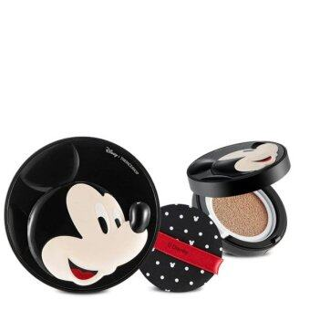 Harga THE FACE SHOP แป้งคุชชั่น X DISNEY MICKEY MOUSE BB POWER PERFECTION CUSHION SPF50+ PA+++ (V201)