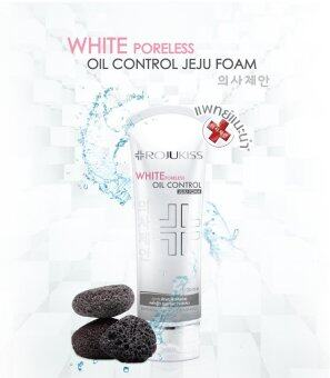 Harga Rojukiss White Poreless Oil Control Jeju Foam 120ml.