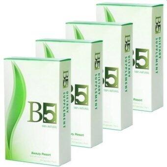 B5 slim อาหารเสริมลดน้ำหนัก กระชับสัดส่วน 30 แคปซูล (4 กล่อง)
