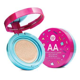 Cathy Doll แป้งคูชั่น เนื้อแมท 15g AA Matte Powder Cushion Oil Control (#21-Light Beige)