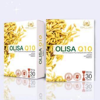 โอลิซ่า คิวเท็น [Olisa Q10] ช่วยให้นอนหลับลึก ปรับสมดุลฮอร์โมน ป้องกันริ้วรอยก่อนวัย [30แคปซูล/กล่อง]
