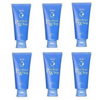 Shiseido Perfect Whip Cleansing Foam (120g.x6หลอด) ราคาสุดคุ้ม!