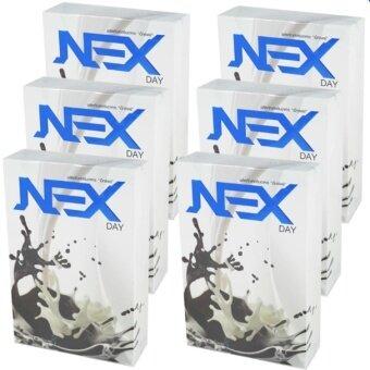 Kudson Exday NEXday เน็กซ์เดย์ Nex day ช็อคโกแลต (Ex day เอ็กซ์เดย์) ลดน้ำหนัก ช่วยให้อิ่มเร็ว เผาผลาญไว (10 ซอง) 6 กล่อง