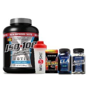 Dymatize Perfect Lean Muscle & Fat Burner ชุดเพิ่มกล้ามเนื้อแบบคมชัดและลดน้ำหนัก