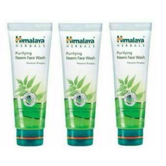 Himalaya Neem Face Wash 100 ml.สำหรับหน้าสิว แพค 3 หลอด