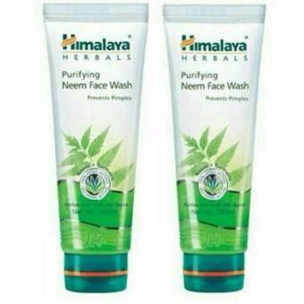 Himalaya Neem Face Wash 100 ml.สำหรับหน้าสิว แพค2 หลอด