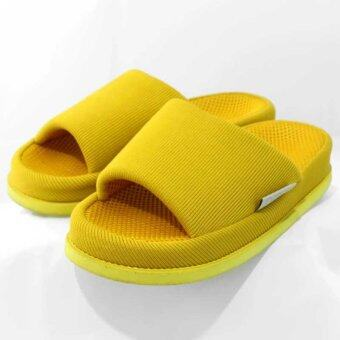 Refre OKUMURA Slippers รองเท้านวดเพื่อสุขภาพ รองเท้าเพื่อสุขภาพ รองเท้าใส่ในบ้าน สีเหลือง (size M)