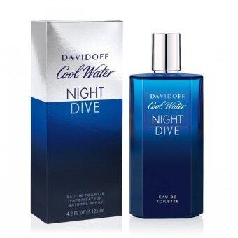 Davidoff Cool Water Night Dive 125 ml.( พร้อมกล่อง )