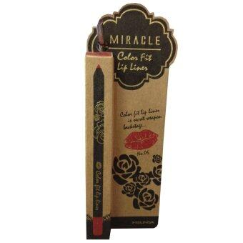 Harga Mei Linda Miracle Color Fit Lip Liner 1.5g No.06 Raspberry