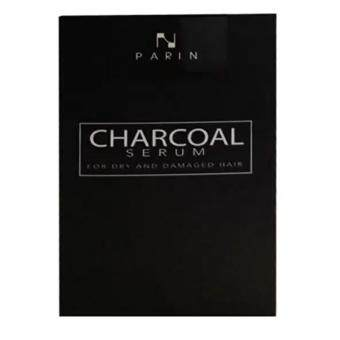 CHARCOAL SERUM BY PARIN ชาโคล เซรั่มบำรุงผมสูตรพิเศษชนิดล้างออก สำหรับล้างสารเคมีตกค้าง 15ml (1 กล่อง)