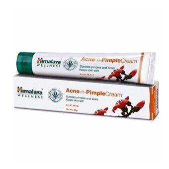 Himalaya Acne n Pimple Cream 20g. ครีมแต้มสิวผดผื่นแดงเม็ดเล็กและลดรอยแดง
