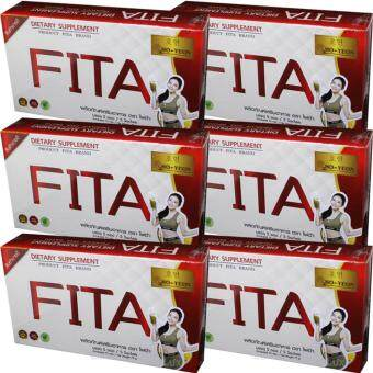 FITA Ho-Yeon ไฟต้าโฮยอน ดีท๊อกซ์ล้างลำไส้ ลดน้ำหนักด้วยจุลินทรีย์ พุงยุบ ลำไส้สะอาด บรรจุ 5 ซอง (6 กล่อง)