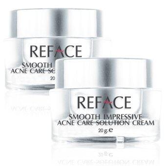 REFACE ครีมลดหลุมสิว Smooth Impressive Acne Care Solution 20g. (แพ็ค 2 ชิ้น)