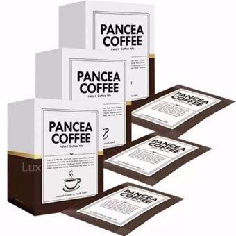 Pancea Coffee แพนเซีย คอฟฟี่ กาแฟปรุงสำเร็จ ควบคุมน้ำหนัก สูตรเข้มข้น หอมกรุ่น อร่อย ชนิดผง ขนาด 10 ซอง (3 กล่อง)