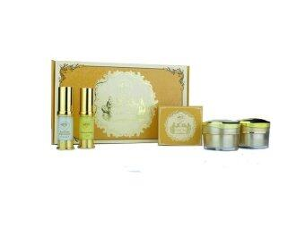 GoldSet FreshyFace (โกลด์เซ็ท) ครีมถุงทองหน้าใส (1 กล่องมี 5 ชิ้น)