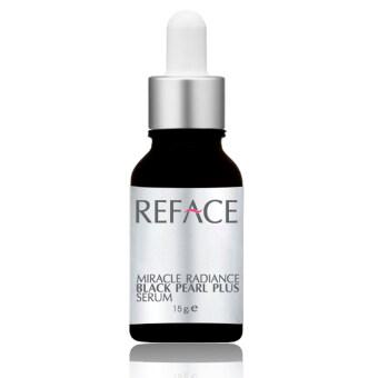 REFACE เซรั่มไข่มุกดำพลัส Miracle Radiance Black Pearl Plus Serum 15 g.