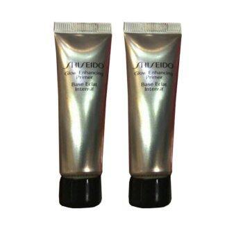Shiseido Glow Enhancing Primer ไพรเมอร์เนื้อเนียนละเอียด ช่วยเนรมิตผิวสวยให้ดูกระจ่างใสเปล่งประประกายอย่างชีวิตชีวา 10ml (2 หลอด)