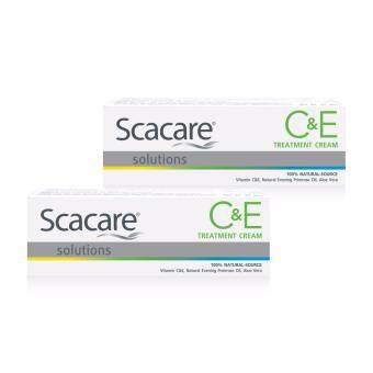 Scacare Solutions C&E Treatment Cream สกาแคร์ โซลูชั่น ซีแอนด์อี ทรีทเม้นท์ ครีม ขนาด 35 กรัม แพ๊คคู่