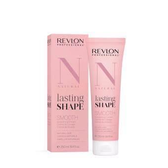 Revlon lasting shape smooth creme 250 + 250mlครีมยืดผสมเคราตินช่วยถนอมและบำรุงเส้นผมในขั้นตอนการยืดผม แม้ผมที่อ่อนแอก็สามารถใช้งานได้ สูตร N- Naturalสำหรับผมธรรมดา ใช้ได้ทั้งเส้นเล็กและใหญ่