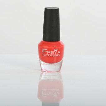 Freya Halal Nail Polish ยาทาเล็บฮาลาล สีแดงสตรอว์เบอร์รี Strawberry(H270) 10ml